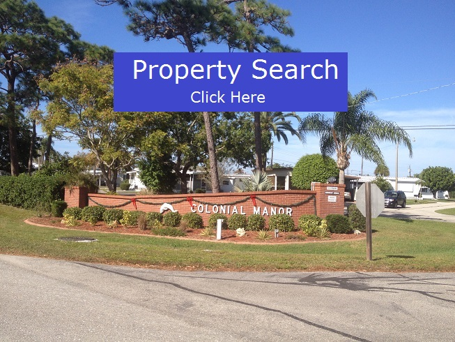 Colonial Manor Mobile Home Park In Venice Fl