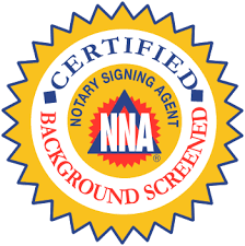 NNA Certified Notary - Lizette Fitzpatrick