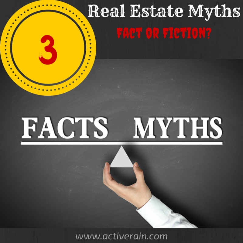 3 real estate myths - fact or fiction?