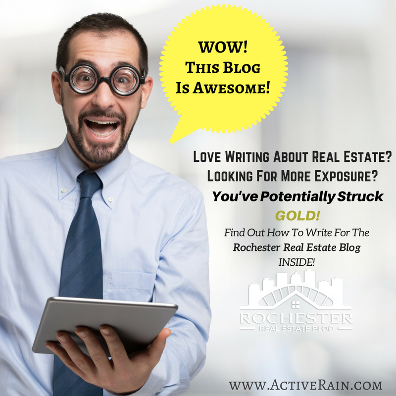 Write For The Rochester Real Estate Blog!