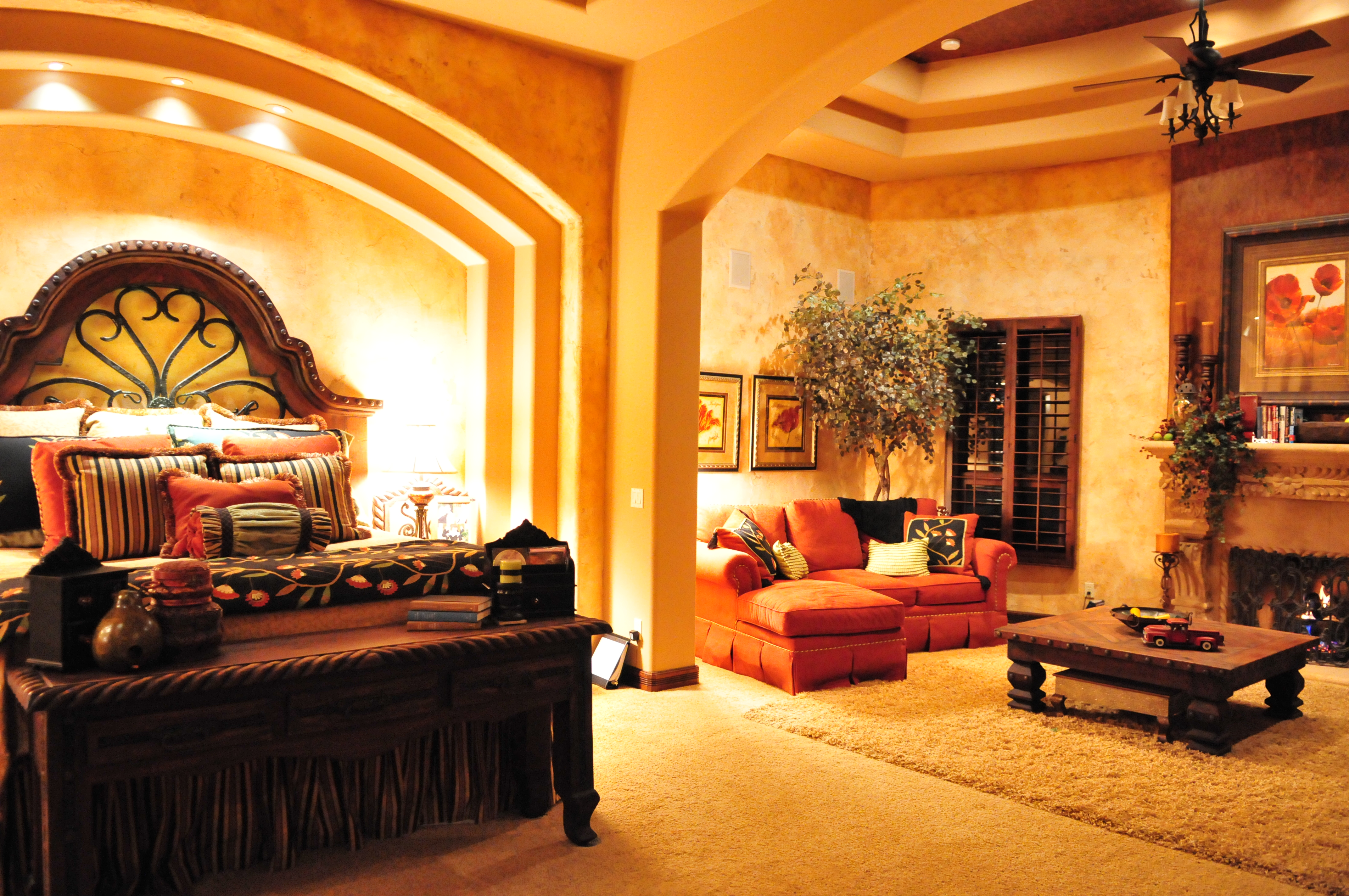 Bedroom Luxury Home With Exquisite Detail In Villa Tuscano Mesa AZ