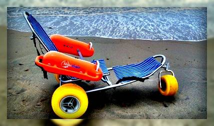 beach wheelchair- delray beach