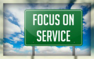 focus on service