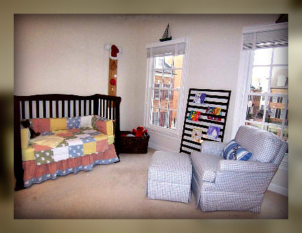 home staging nursery after