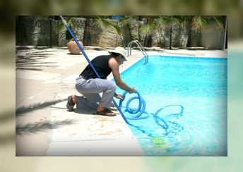 clean the pool
