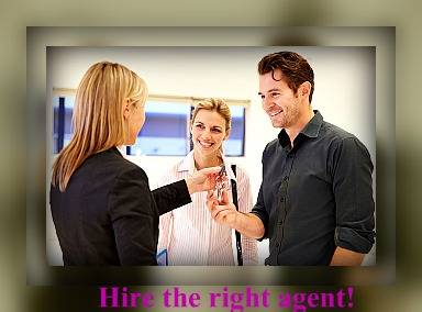 hire the right real estate agent