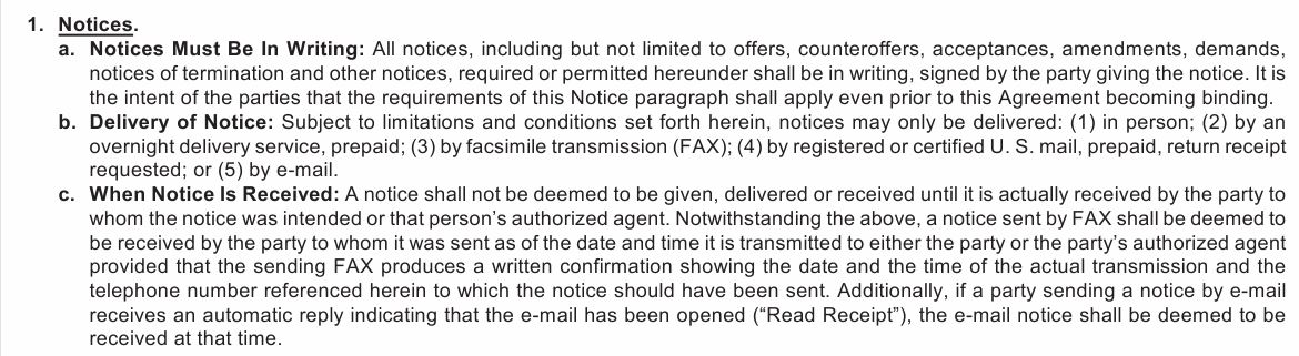 The Binding Agreement Date In A Gar Georgia Real Estate Contract
