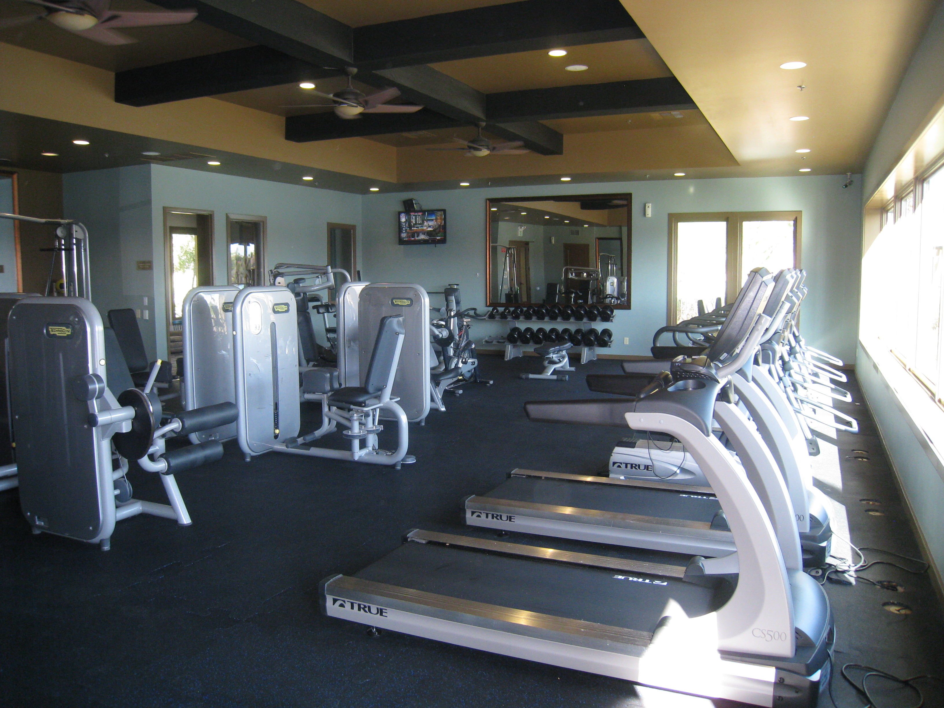 Terra Lago fitness center