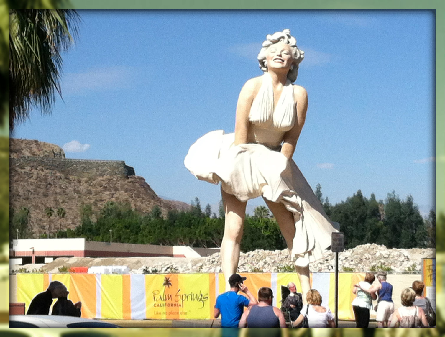 Forever Marilyn Statue in Palm Springs