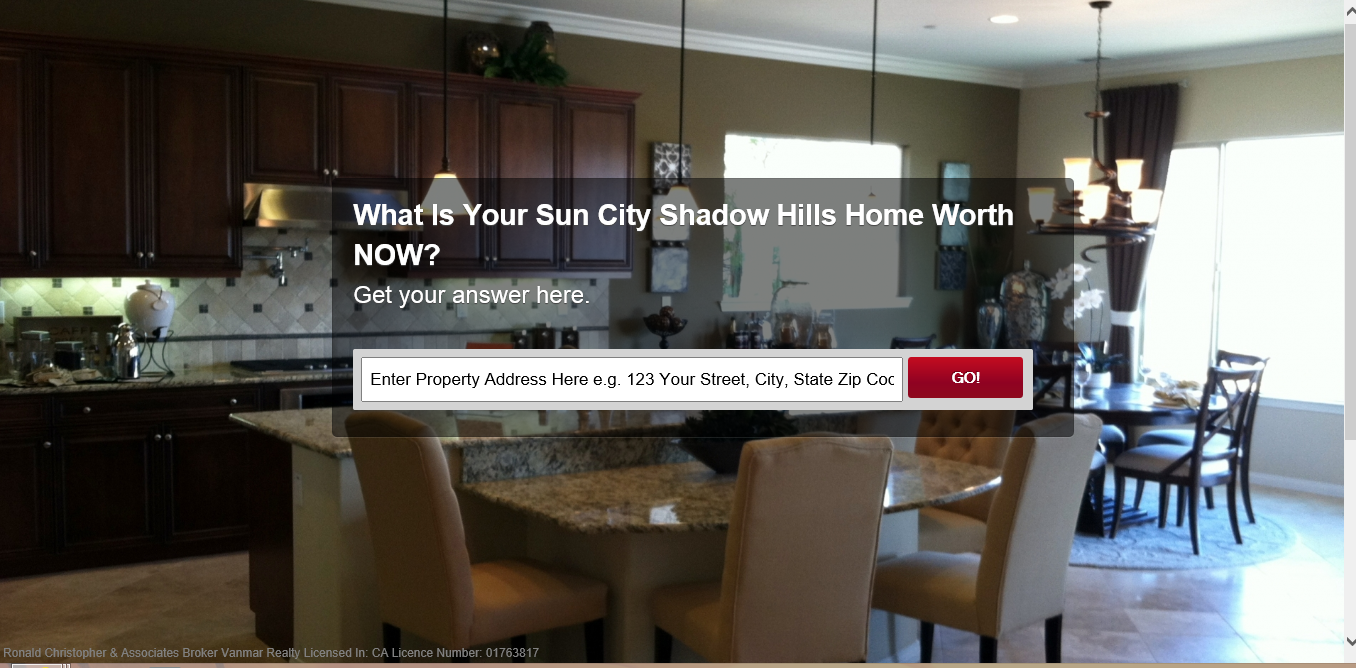 How much is my Sun City Shadow Hills Home Worth?