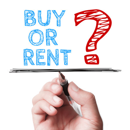 To Rent or Buy - And Which is Better?