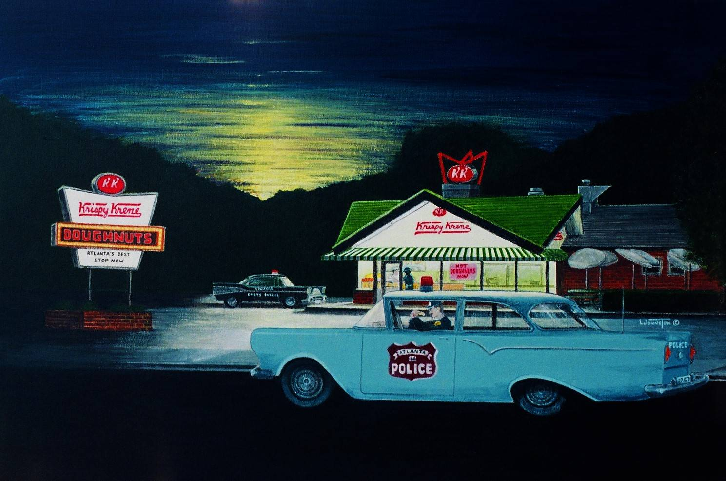 History of a painting krispy kreme atlanta ga for Car painting atlanta