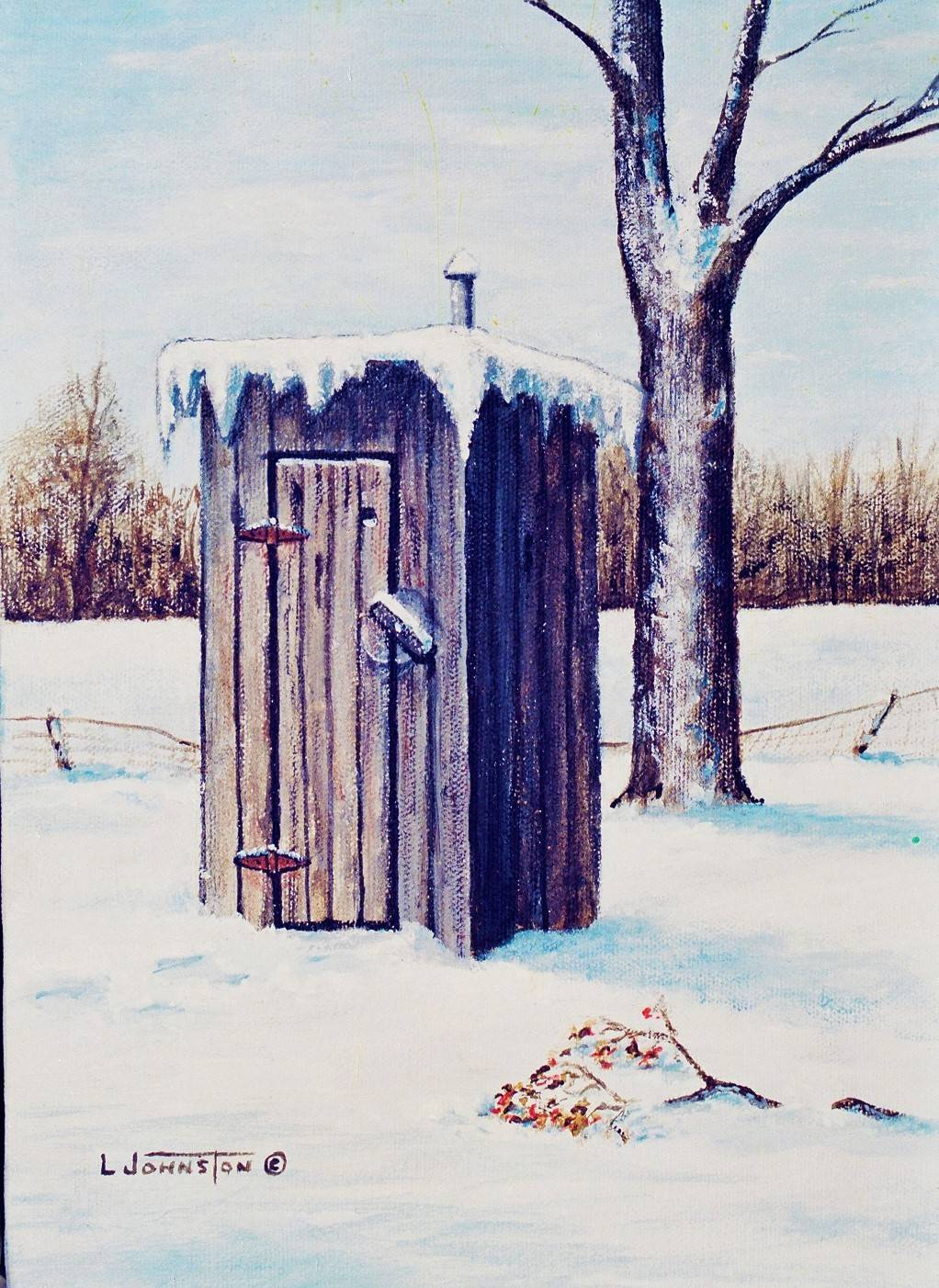 Outhouse Paintings -