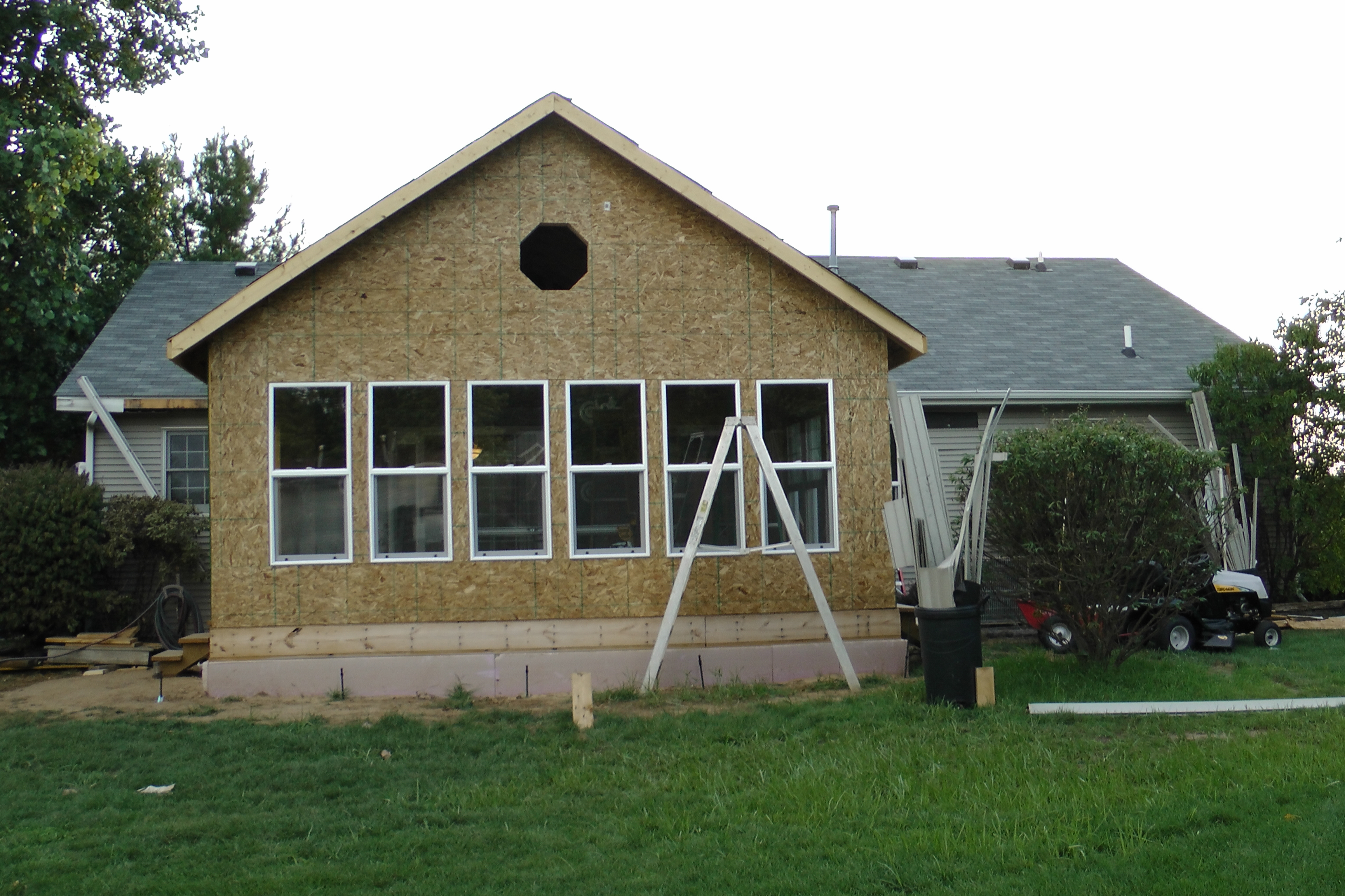 how to build an addition to your house yourself