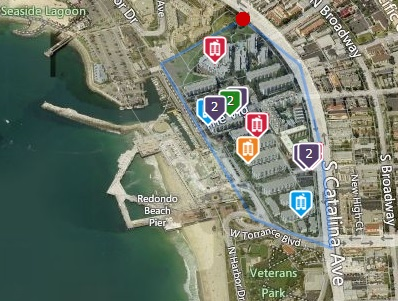 map the village market report home for sale condo redondo beach ocean view pool walk
