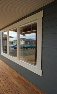 Simple exterior window trim anyone can do - Best wood for exterior window trim ...