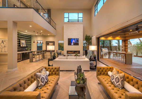 Sterling Ridge Modern Las Vegas Homes