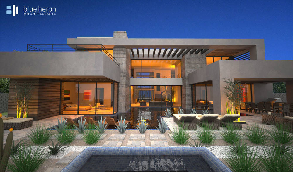 Blue heron homes in henderson nv offer modern designs New modern houses for sale