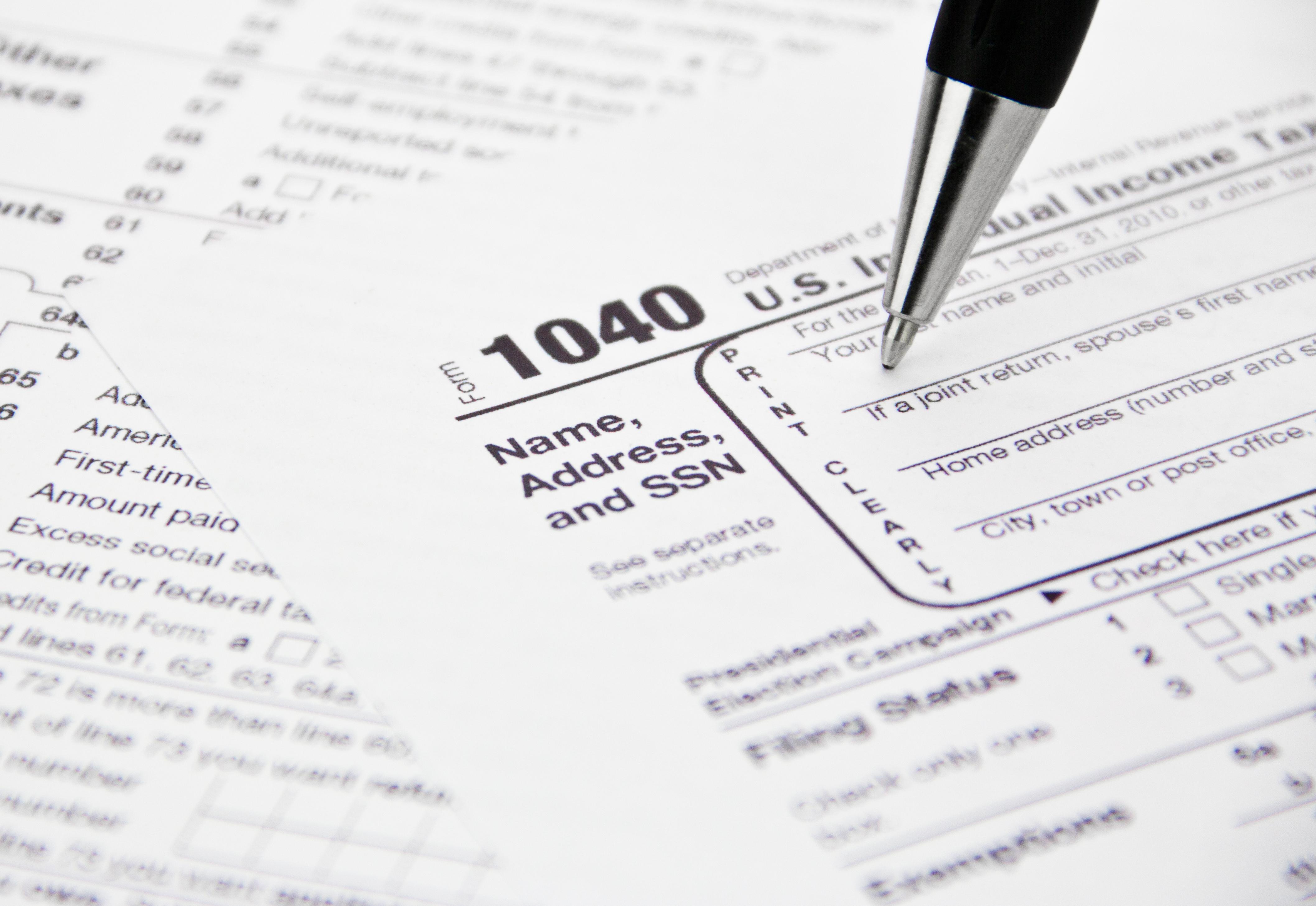 1040 tax prep