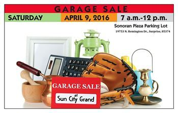 Sun City Grand Garage Sale