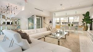 Ocean Seven Surfside Living Room