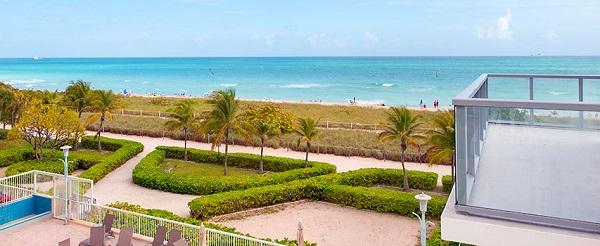 Ocean Seven Residences Surfside, Miami Beach oceanfront location