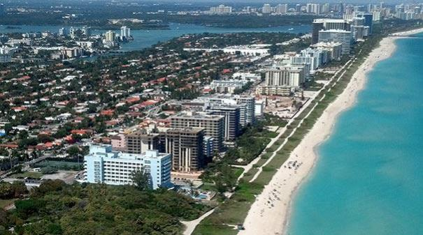 Surfside, Florida luxury oceanfront condos and waterfront homes