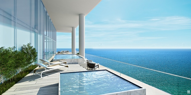 Turnberry Ocean Club Duplex Penthouse for sale