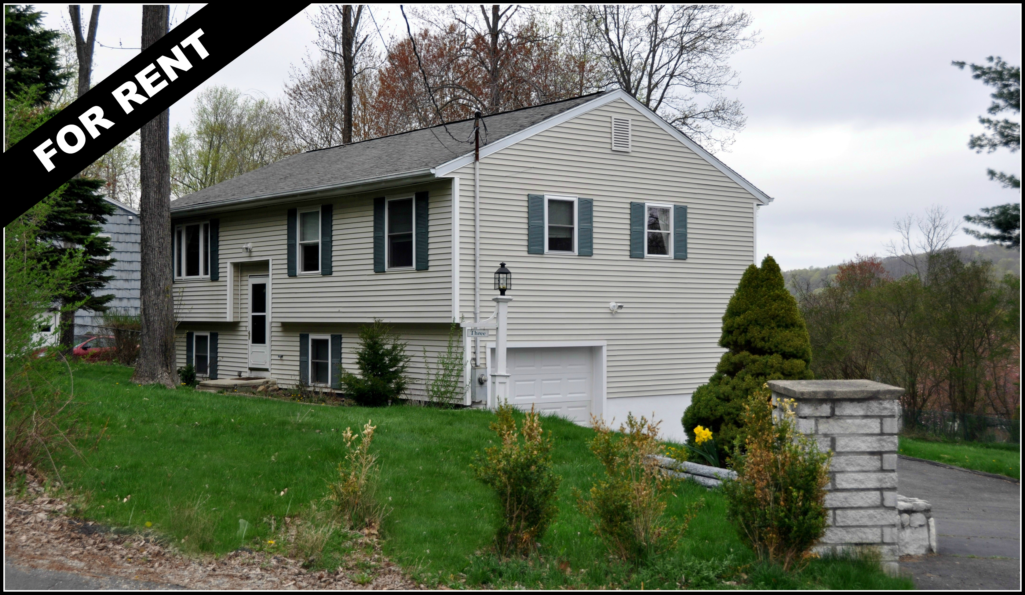 Fairfield County Rental 2000 Mo 3 BDRM W Garage For Lease Danbury CT
