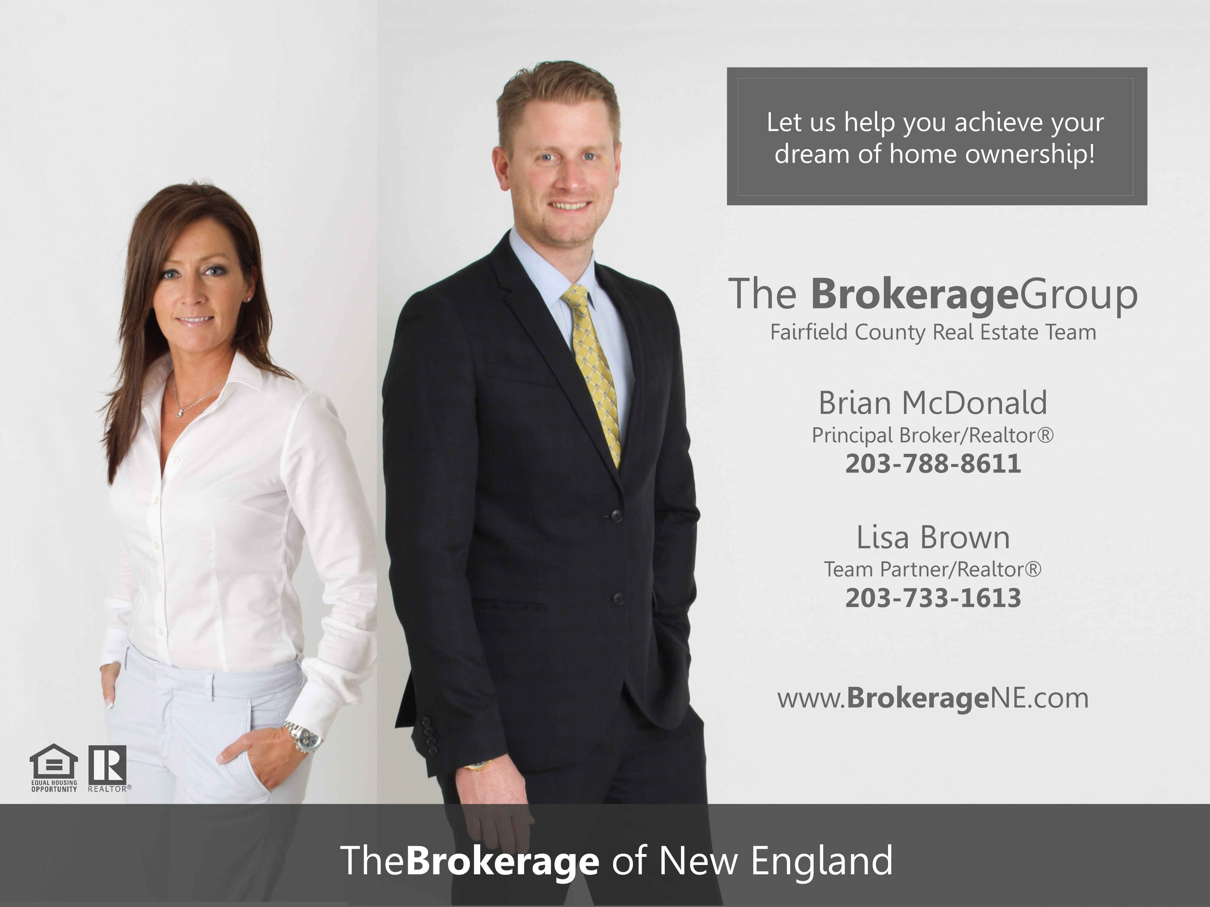 The Real Estate Brokerage Group.  Top Realtors servicing Brookfield CT Home buyers and sEllers.  Brookfield CT Real estate agents 06804