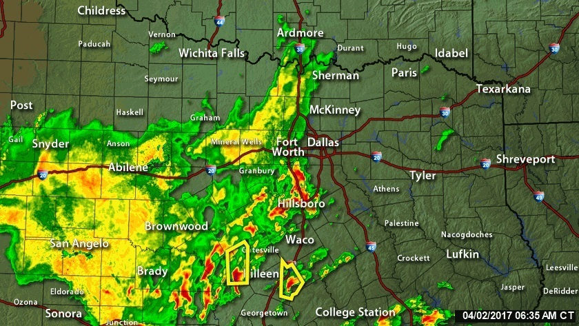 Batten Down The Hatches Big Storms In Dallas