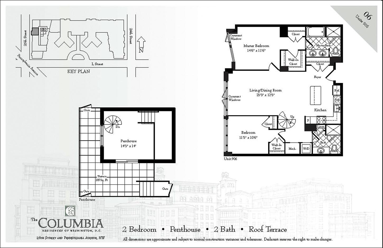 Columbia Residence Floorplan