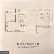 Sample floorplan of the Elizabeth