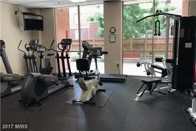 Fitness Center at the Christopher 4808 Moorland Lane Bethesda