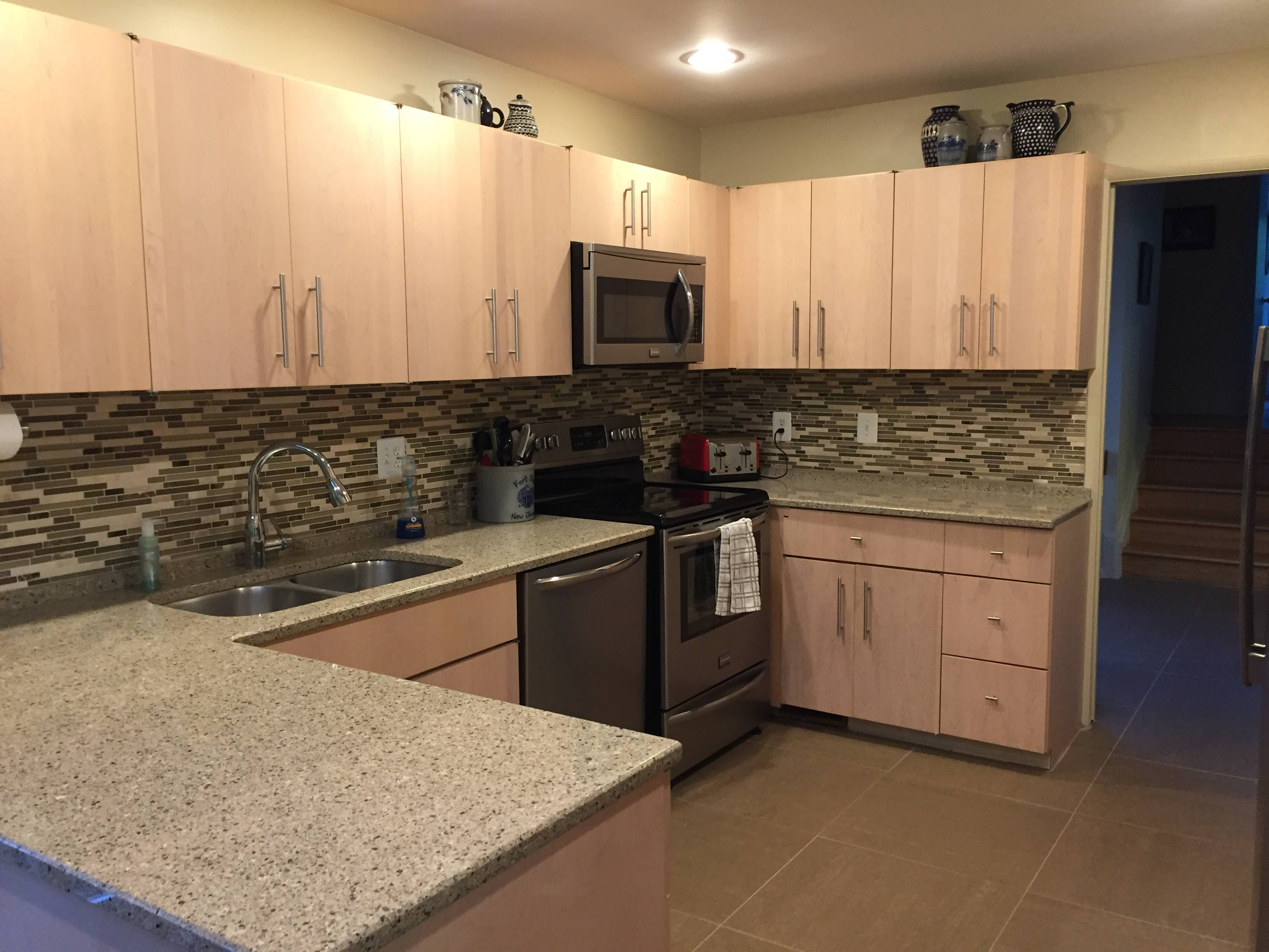 updated kitchen in Mount Vernon home for sale