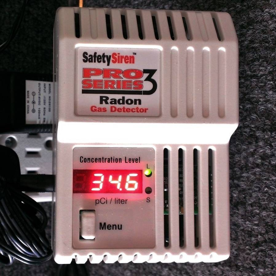 Electronic Radon Gas Detector for Sale
