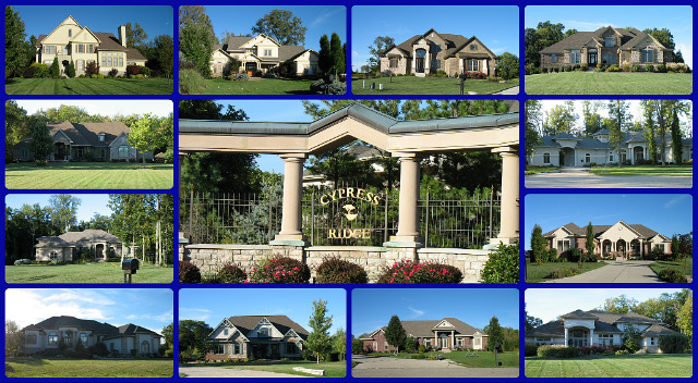 Cypress Ridge community  Springboro Ohio 45068