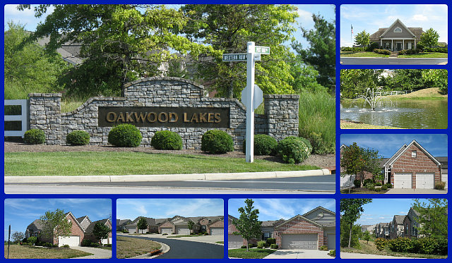 Oakwood Lakes condo community of Mason Ohio 45040