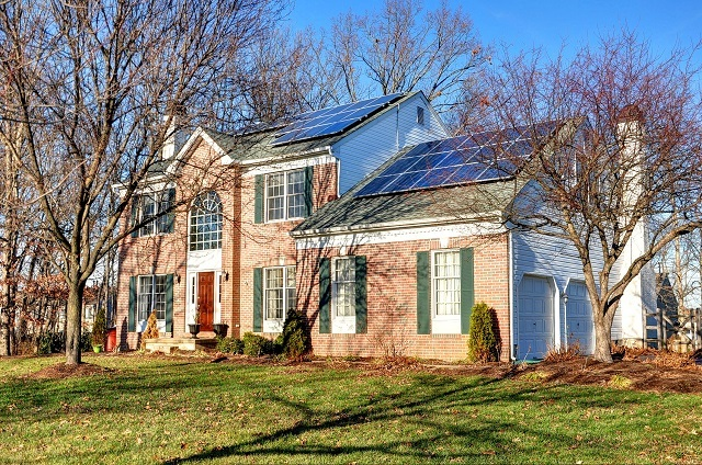 Harleysville Home with Solar Energy