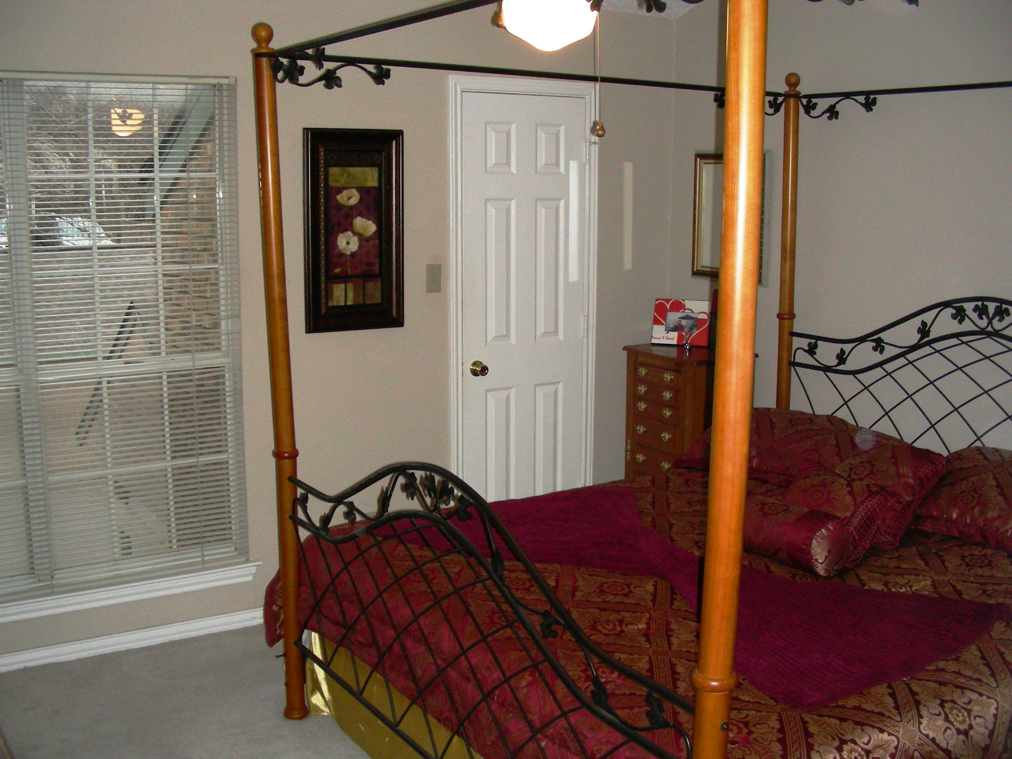 Springstead Condo Downstairs Master Bedroom