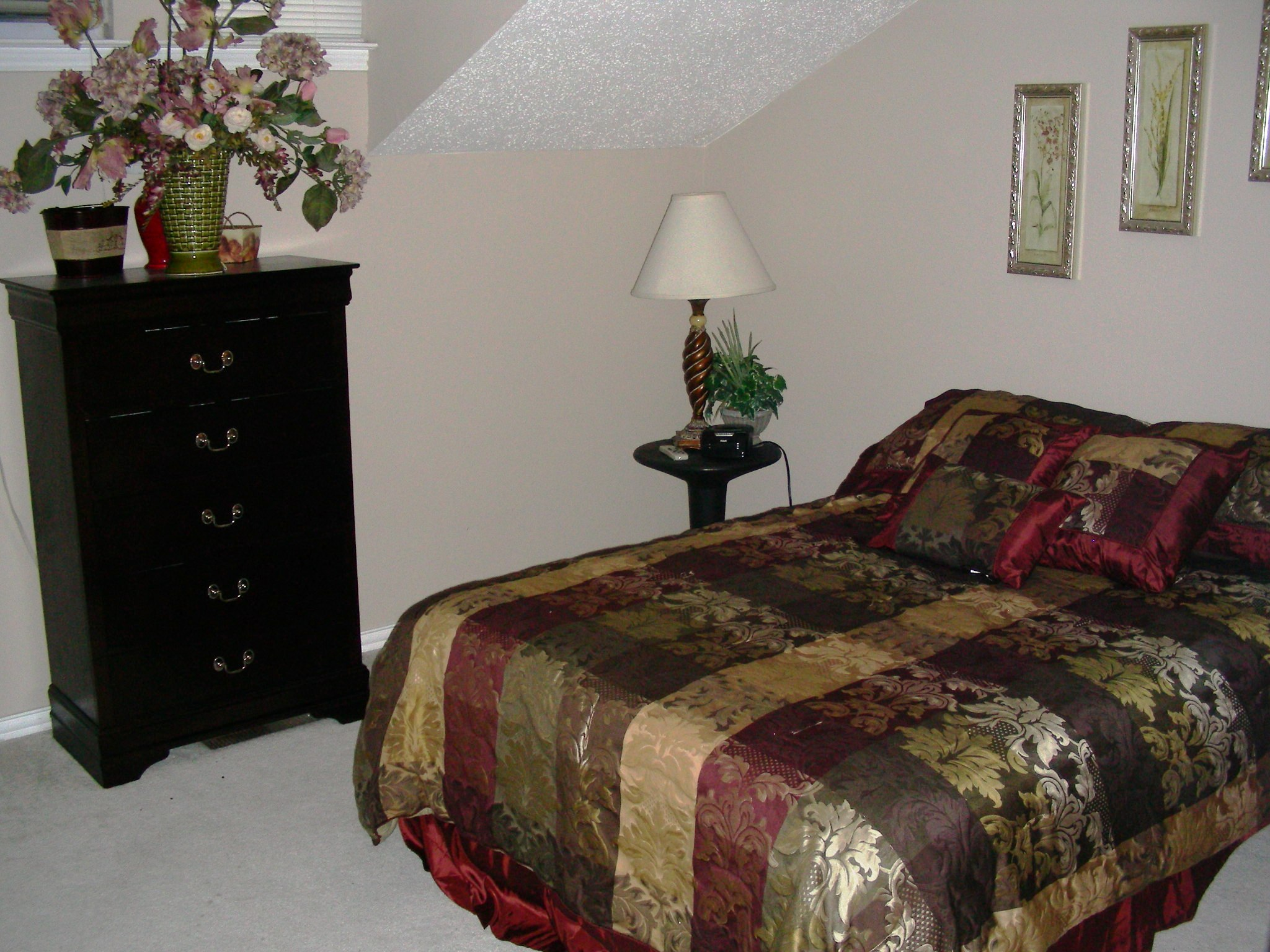 Springstead Condo Upstairs Master Bedroom
