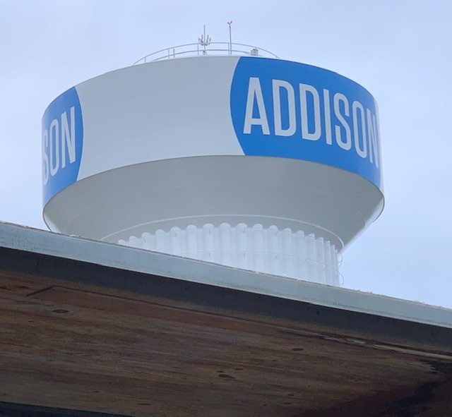 Addison's Water Tower