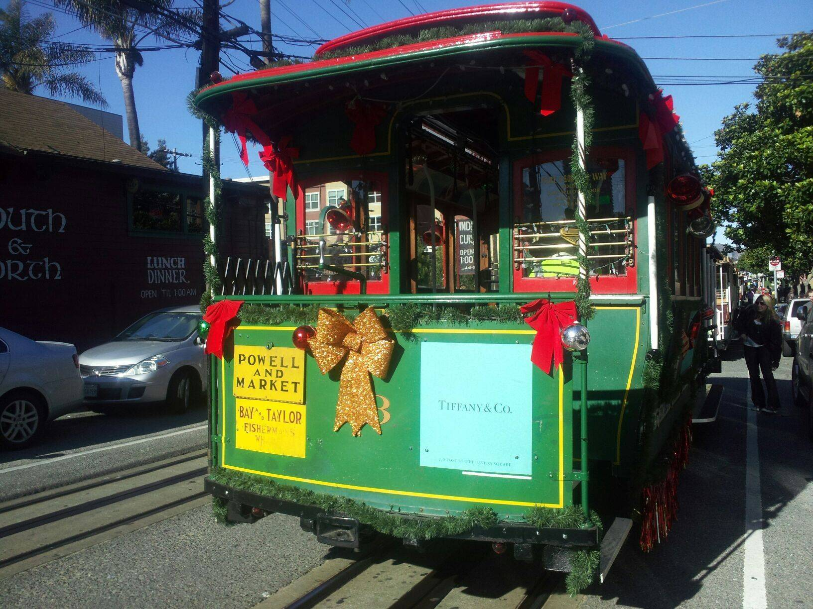 cable car-Christmas time