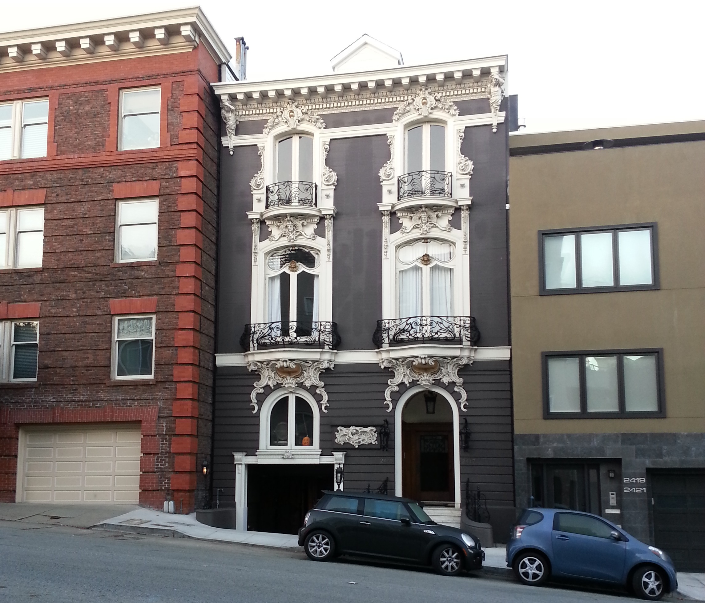 Cool House In Pacific Heights, San Francisco