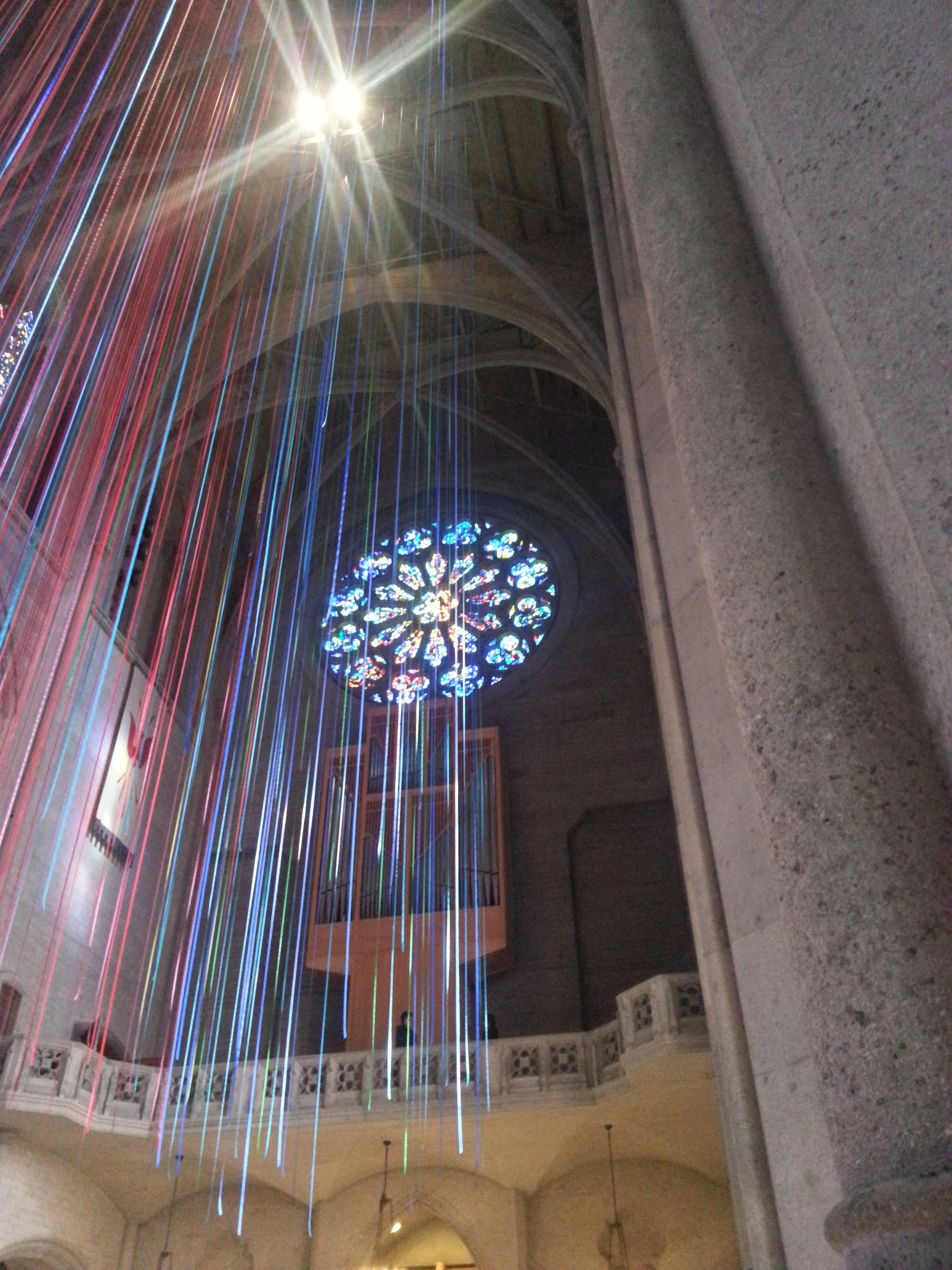 interior of Grace Cathedral