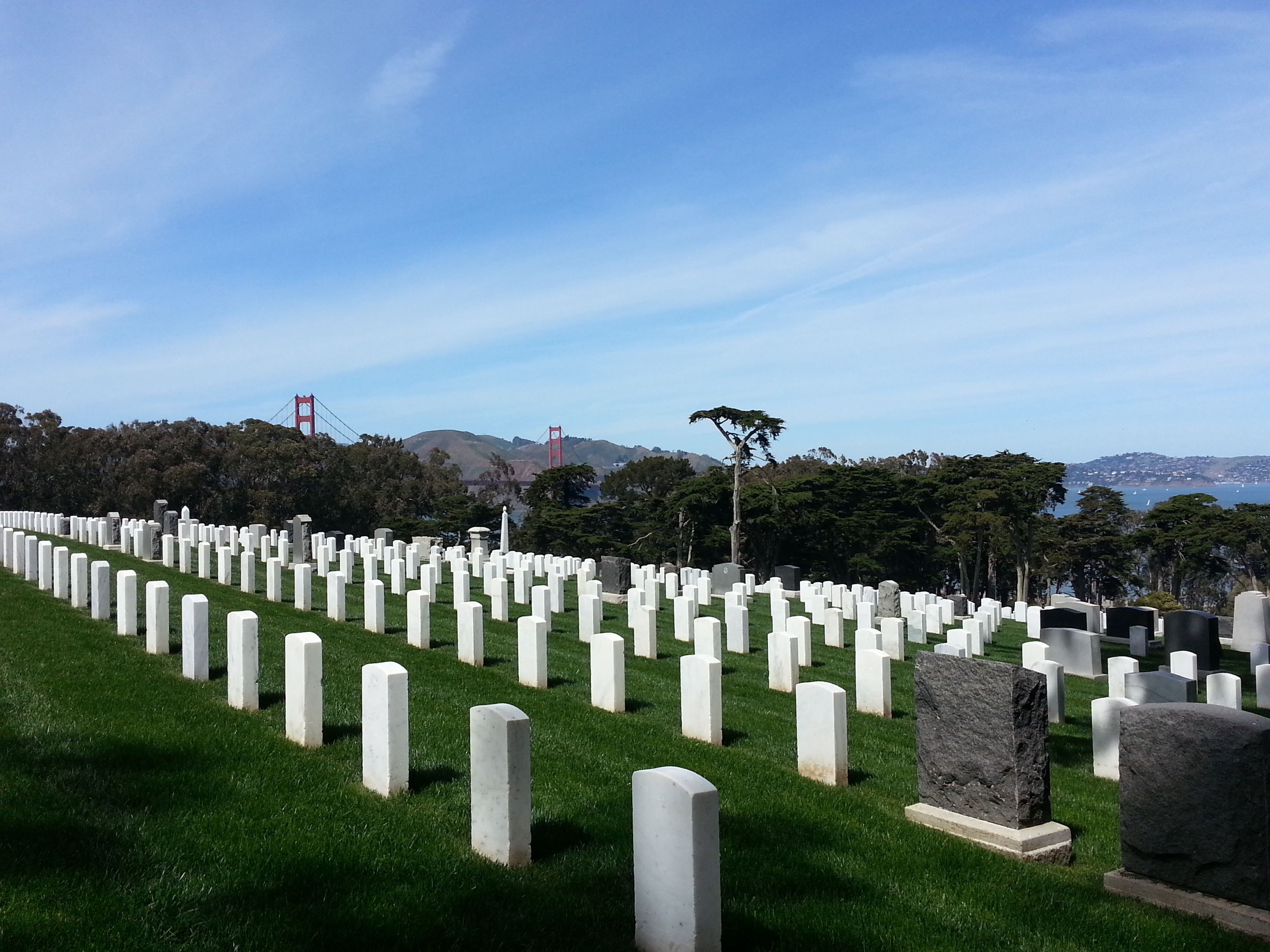 National Cemetery, SF Presidio
