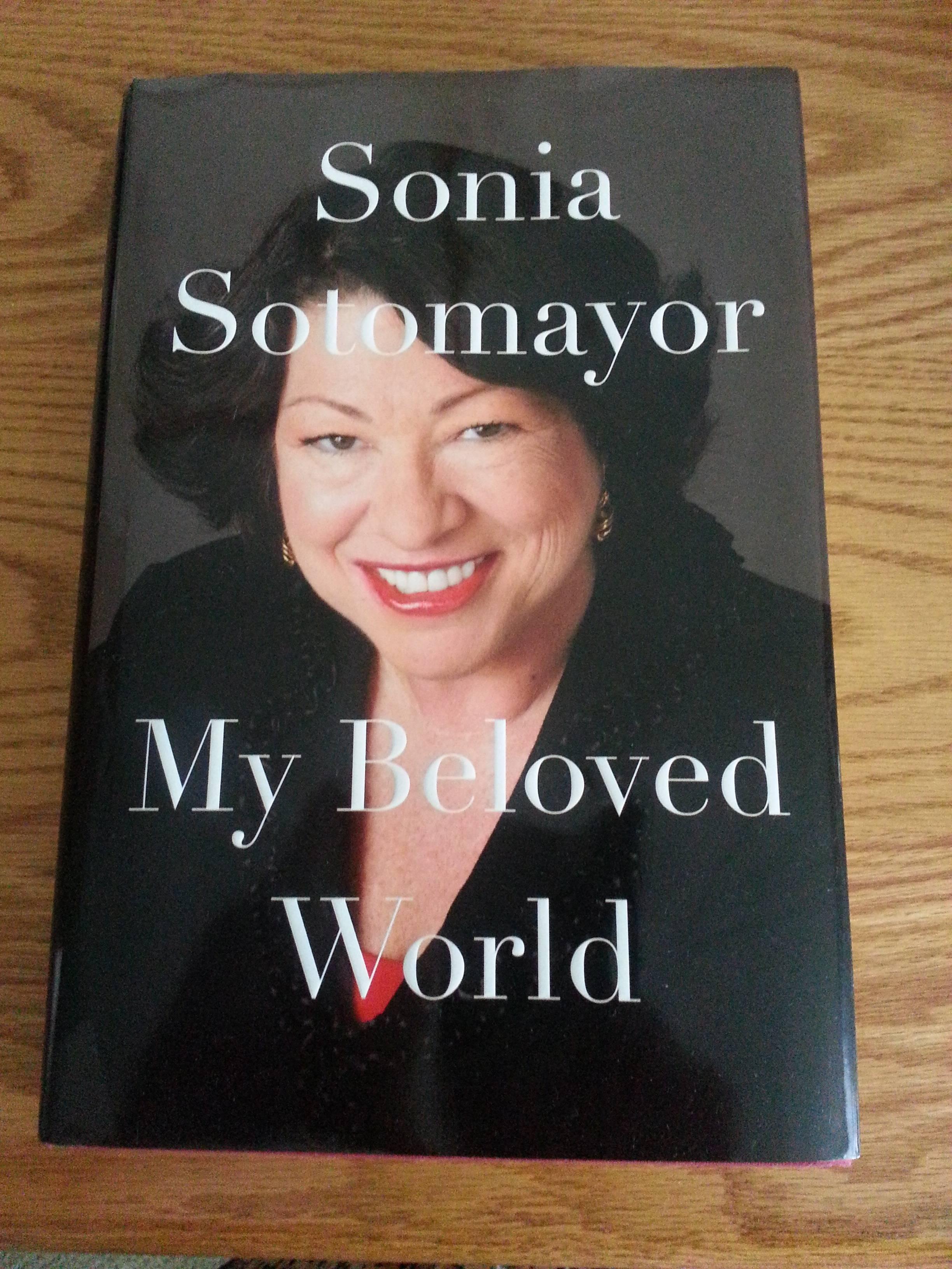 Sonia sotomayor biography essay