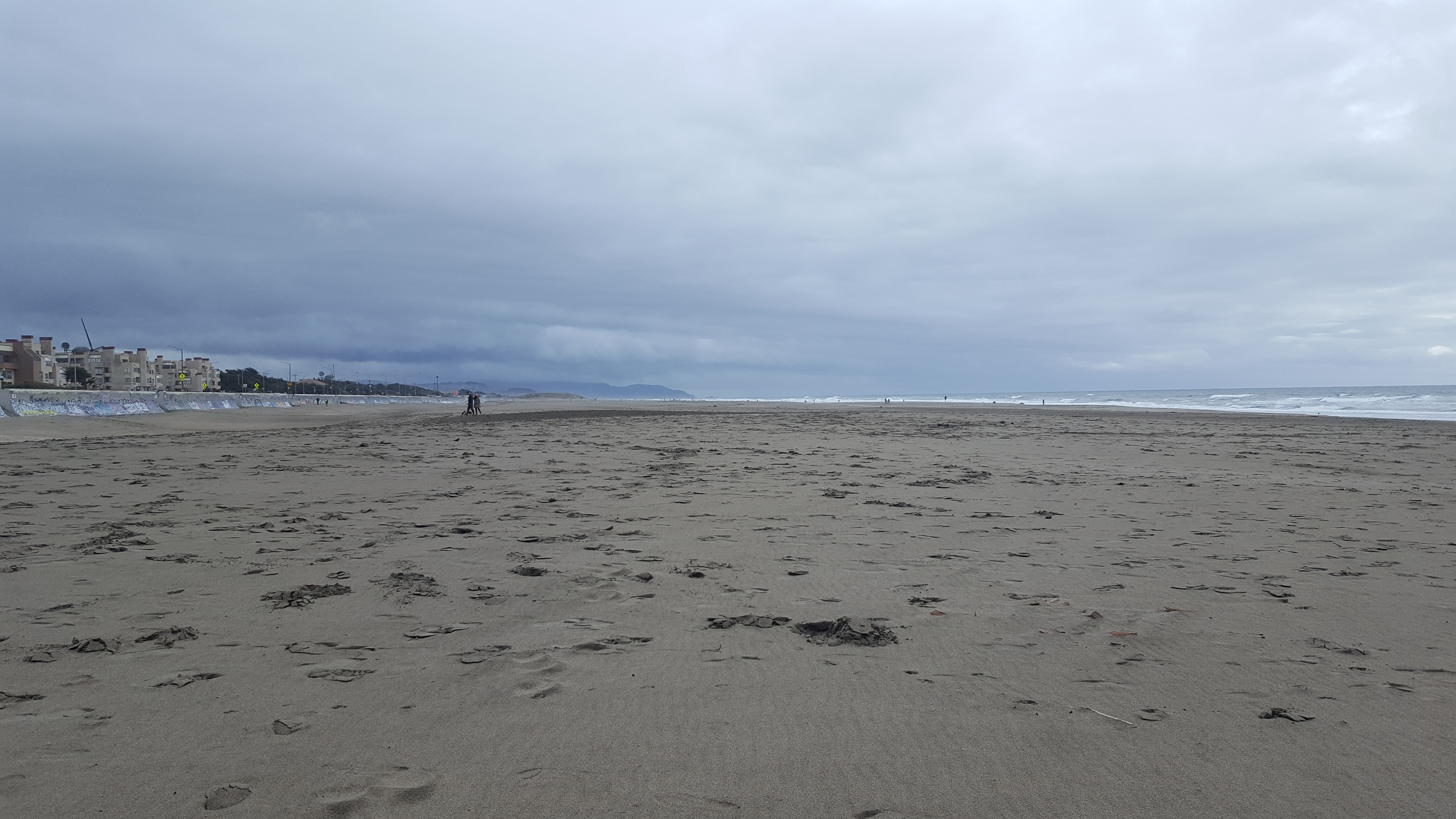 Ocean Beach, SF, looking south