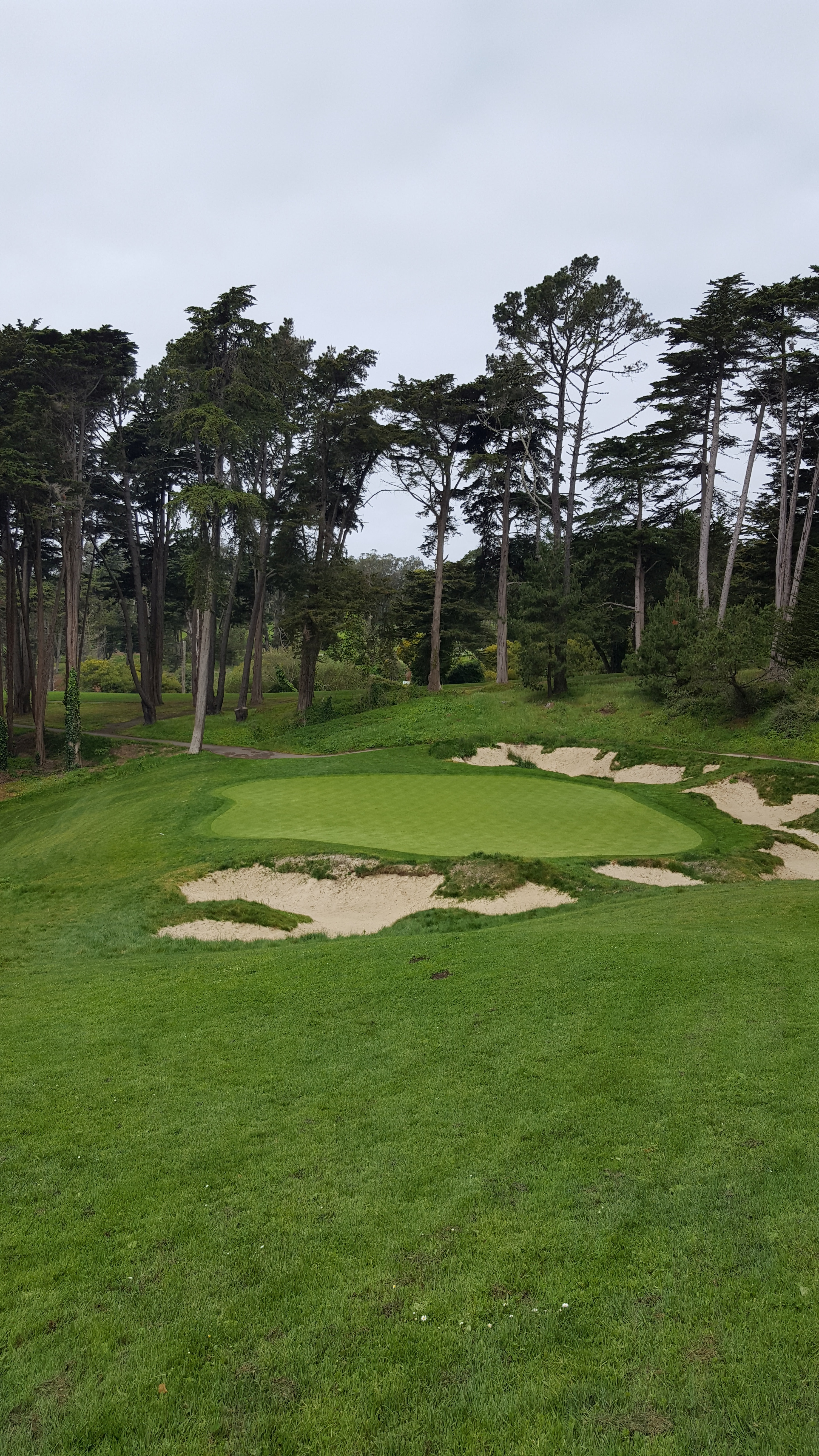 Presidio Golf Course, Hole 4, SF