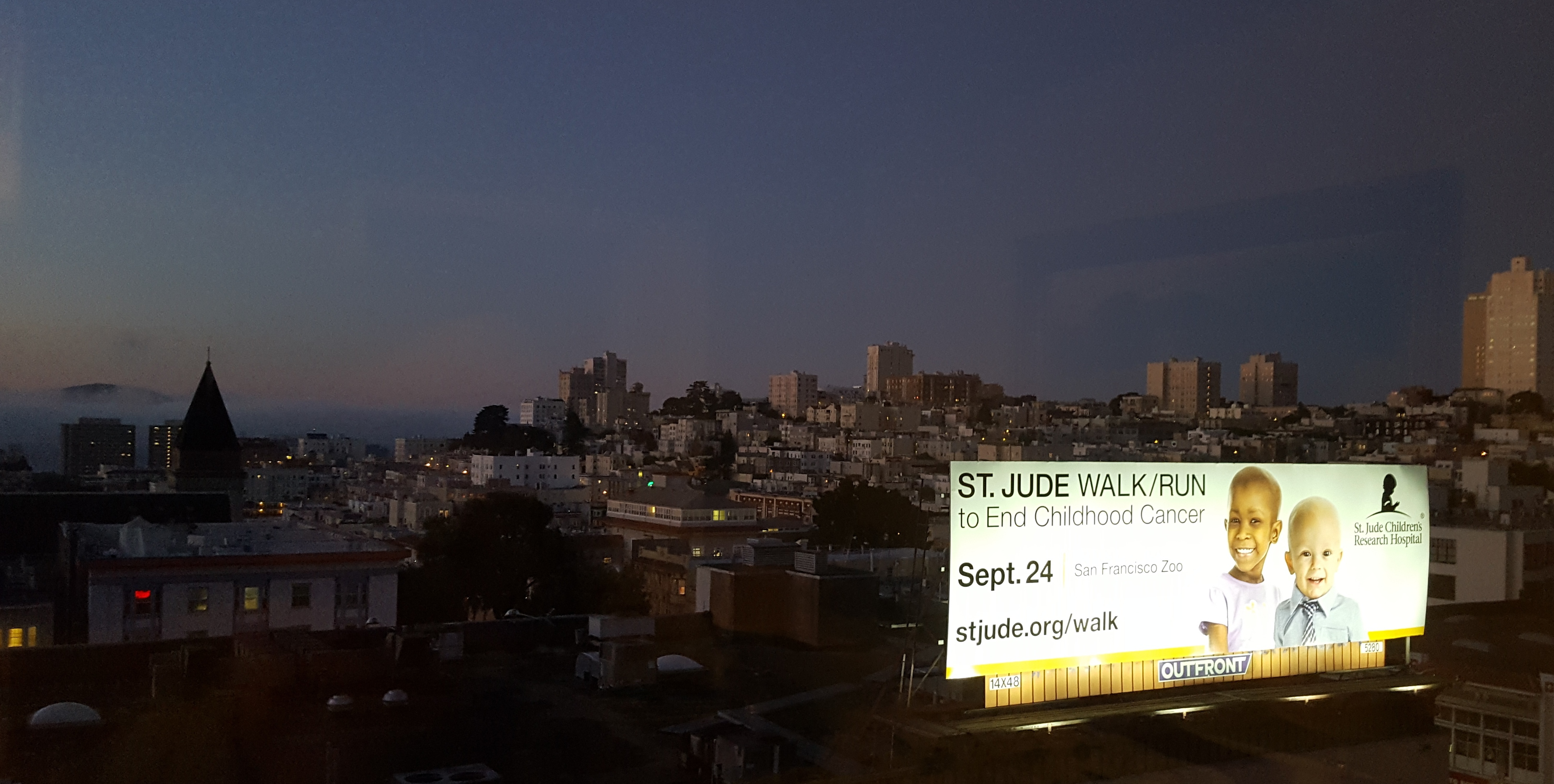 St. Jude's walk to end childhood cancer, SF